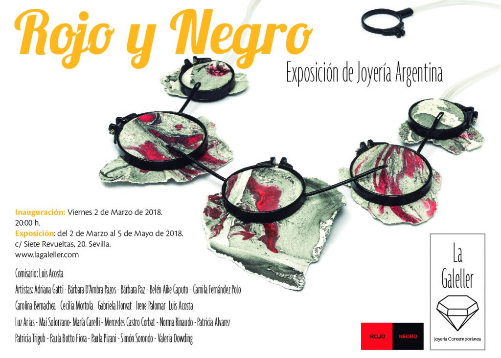 """Rojo – Negro, Joyas"""