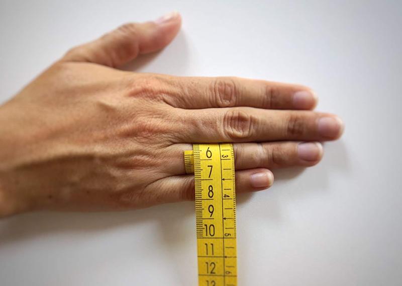 tomar medidas con cinta metrica