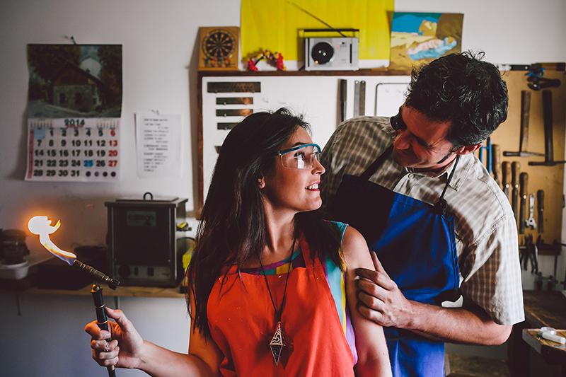 Patricia Rua y Guillermo Saenz