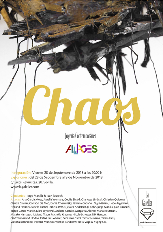 Chaos – Alliage Contemporary Art Jewellery