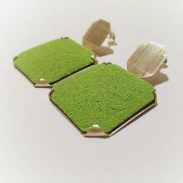Pendientes Ascher Verdes