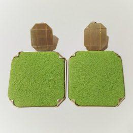 Pendientes Verdes Ascher
