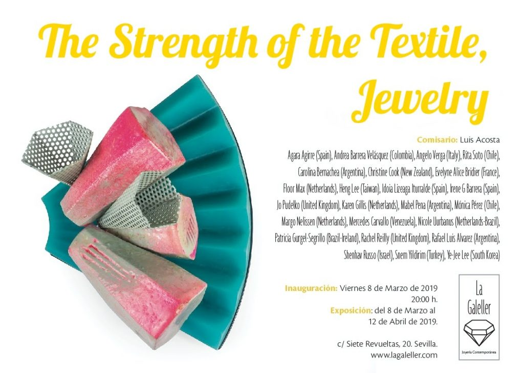 The strength of textil, jewelry